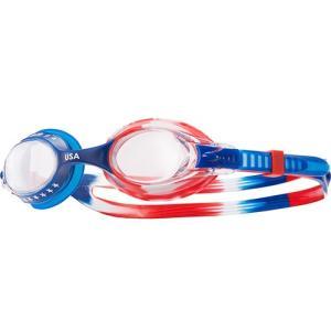 ティア(TYR) キッズ スイムゴーグル USA CL/RD/NV LGSWUSA 水泳用ゴーグル ジュニア 子供用|esports