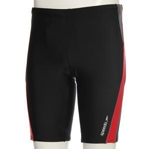 スピード(speedo) メンズ スパッツ SD87S85H (KR)ブラック/レッド メンズフィットネス水着 男性用|esports