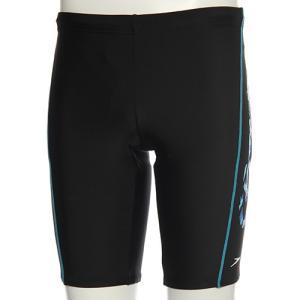 スピード(speedo) メンズ スパッツ SD87S87H (KB)ブラック/ブルー メンズフィットネス水着 男性用|esports