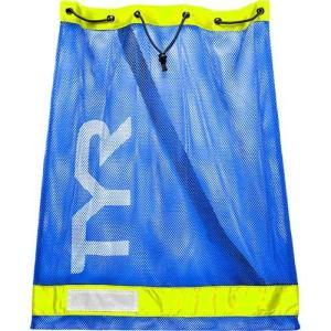 ティア(TYR) メッシュ エキップメント バッグ RYYL 75L LBD2 メッシュバッグ 水泳小物 収納 パドル・フィン・プルブイ|esports