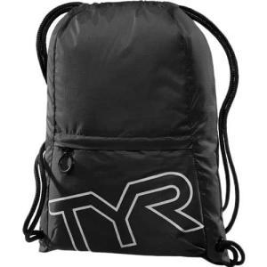 ティア(TYR) ドローストリング サックパック BK 13L LPSO2 ジムサック ナップサック スイムバッグ 水泳 トライアスロン|esports