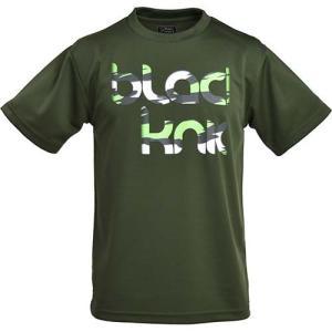 ブラックナイト(Black knight) メンズ レディース バドミントン BK Tシャツ(bk129) ダークグリーン T-12918 DGRE ウェア 半袖|esports