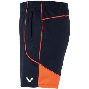 ビクター(VICTOR) ハーフパンツ(レディース) ブラック/オレンジ R-5090 CO テニス バドミントン 半ズボン ボトムス|esports