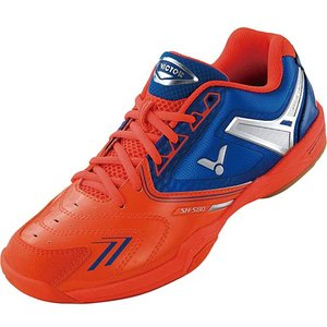 ビクター(VICTOR) バドミントンシューズ オレンジ SH-S80 O バドミントンシューズ メンズ レディース フットウェア 靴|esports