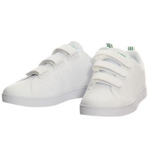 アディダス(adidas) メンズ レディース ネオ NEO バルクリーン2 VALCLEAN2 CMF ベルクロ ホワイト/グリーン BTZ19 AW5210 アディダスネオ スニーカー シューズ|esports
