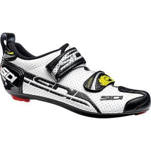 シディ(SIDI) エアー T-4 AIR WHT/BLK ビンディングシューズ 自転車 サイクル ロードバイク スポーツ SPD-SL|esports