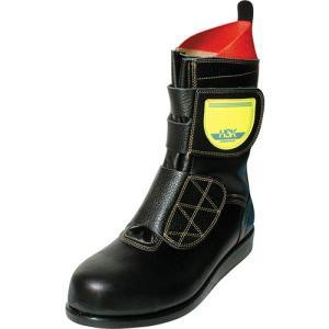 ノサックス(Nosacks) 舗装工事用安全靴 HSKマジック マジック式 ユニセックス メンズサイズ ブラック 30cm HSKマジックB2 ワークシューズ 道路 現場作業
