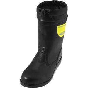 ノサックス(Nosacks) 舗装工事用安全靴 HSK208フード付 半長靴フード付 ユニセックス メンズサイズ ブラック HSK208フード付 ワークシューズ 道路 現場作業