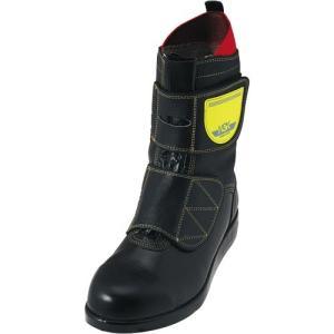 ノサックス(Nosacks) 舗装工事用安全靴 HSKマジックJ1 マジック式 JISモデル ユニセックス メンズサイズ ブラック 30cm HSKマジックJ1B2 ワークシューズ 道路