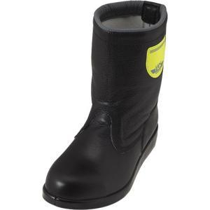 ノサックス(Nosacks) 舗装工事用安全靴 HSK208J1 半長靴 JISモデル ユニセックス レディースサイズ ブラック HSK208J1 ワークシューズ 道路 現場作業