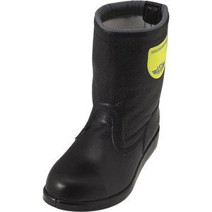 ノサックス(Nosacks) 舗装工事用安全靴 HSK208J1 半長靴 JISモデル ユニセックス メンズサイズ ブラック HSK208J1 ワークシューズ 道路 現場作業