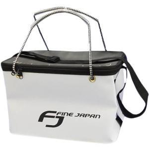 ファインジャパン(FINE JAPAN) EVA角手提げフタベルト付き WH 36cm BK-2082 釣り フィッシング|esports