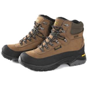 ハナガル(hanagal) 登山靴 ハイカット メンズ ブラウン HO-1305 シューズ ブーツ 防水 ビブラム|esports