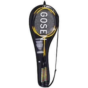 ゴーセン(GOSEN) バドミントン セット レジェンダリー9 YE イエロー MBL9S バドミントンラケット 張り上げ済み 初心者用 レジャー用 ピクニック|esports