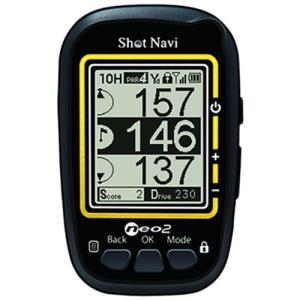 ショットナビ(SHOT NAVI) NEO-2 GPS ゴルフナビ ブラック コンパクト 距離測定 ナビゲーション