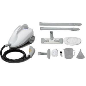 アイリスオーヤマ スチームクリーナーキャニスタータイプ ホワイト STM-410E 掃除機 蒸気 除菌 防カビ|esports