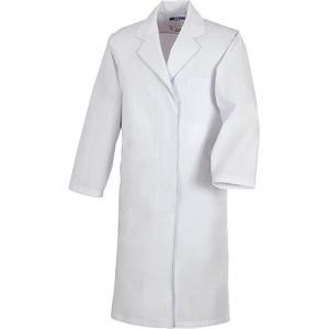 食品工場や実験棟など衛生管理が厳しい環境に対応する白衣です。体毛落下防止機能を装備しています。実験衣...