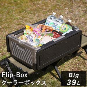 フリップボックス(Flip-Box) ビッグ 折りたたみ クーラーボックス 大型 39L 保冷保温 ...