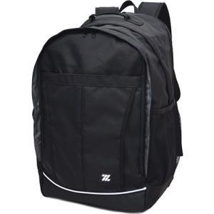 ゼット(ZETT) ナイロン スクールリュック ブラック 20001 通勤通学 バッグ 鞄 カジュアル バック|esports
