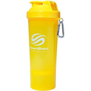 スマートシェイク(SMARTSHAKE) シェイカーボトル スリム ネオンイエロー KSS0102 多機能 水筒 マグボトル シェーカー スクイズボトル