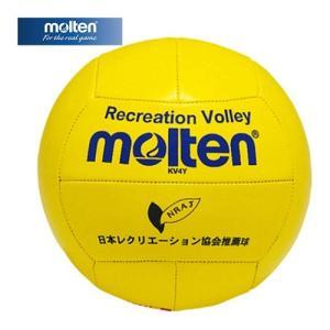 モルテン(molten) レクリエーションバレー4号(黄) KV4Y バレーボール|esports