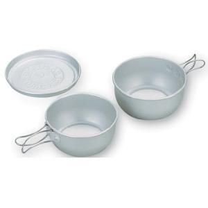 エバニュー(EVERNEW) アルミボールセット3 EBY157 シェラカップ・食器