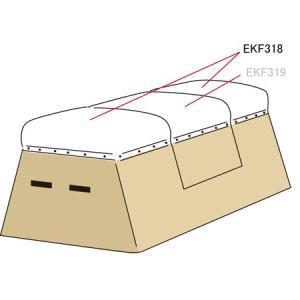 エバニュー(EVERNEW) とび箱ED用リペアセット EKF318 体操 ロイター板 ふみきり板 マット
