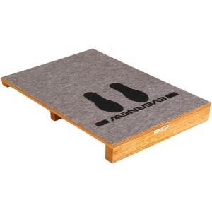 エバニュー(EVERNEW) ふみきり板90M EKF431 跳び箱 ロイター板 跳躍 体操 マーク