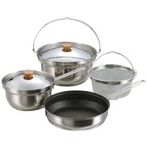 鍋は美しく、丈夫で錆びにくいステンレス製!22cm鍋ふたはフライパン22cmにも使用できます。【商品...