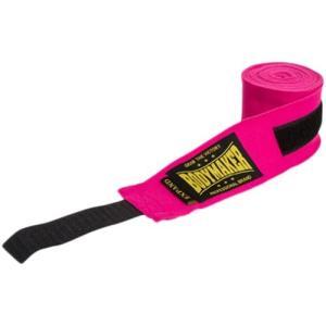 ボディメーカー(BODYMAKER) バンデージ 伸縮 ピンク TG090 拳 ボクシング ボクサー ジム