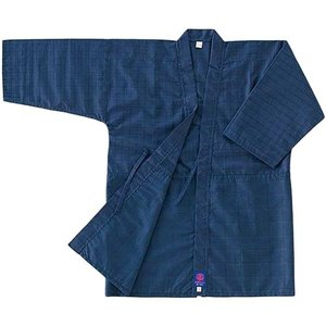 九櫻(クサクラ)KO8 紺8号(濃紺地黒糸25mm刺) 2号 KO82 剣道衣少年用 08|esports