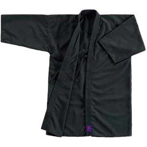 九櫻(クサクラ) 居合衣 黒テトロン製 RA1