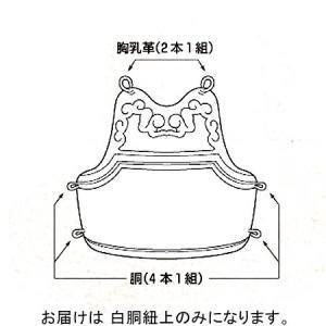 九櫻(KUSAKURA) 白胴紐上 白 KH12 剣道 防具 部品