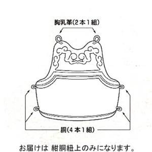 九櫻(KUSAKURA) 紺胴紐上 紺 KH22 剣道 防具 部品