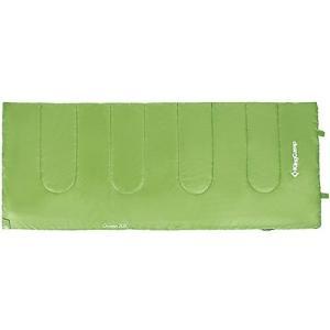 キングキャンプ 寝袋 オキシゲン 封筒型 シュラフ 夏用 最低使用温度8度 グリーン KS3122 KINGCAMP アウトドア 車中泊 非常用|esports