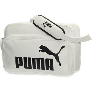 プーマ(PUMA) トレーニング PU ショルダーバッグ L プーマホワイト 075371 05 エ...