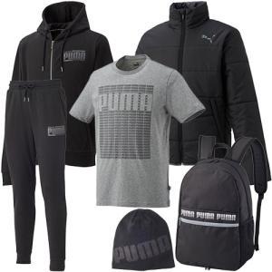 プーマ(PUMA) メンズ トレーニングウェア 2019年 福袋 ハッピーセット 921038 上下セット スポーツウェア ジャージ ジャケット スウェット パンツ