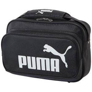 プーマ(PUMA) トレーニング PU ショルダー Mサイズ ブラック/ホワイト 075370 01...