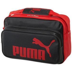 プーマ(PUMA) トレーニング PU ショルダー Lサイズ ブラック/プーマレッド 075371 ...