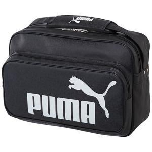 プーマ(PUMA) トレーニング PU ショルダー Lサイズ ブラック/ホワイト 075371 01...