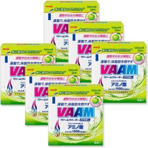 ヴァーム(VAAM) ヴァーム ウォーターパウダー 30袋 6箱セット クリアアップル(5.5g/1...