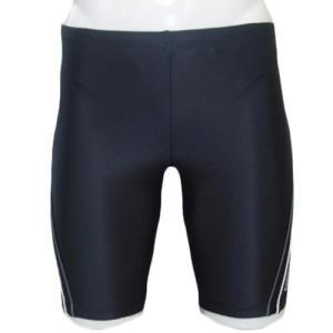 ラシエロ(LACIELO) インナー付きメンズキングスイムパンツ BLK/WHT LMP1614K メンズフィットネス水着 男性用|esports