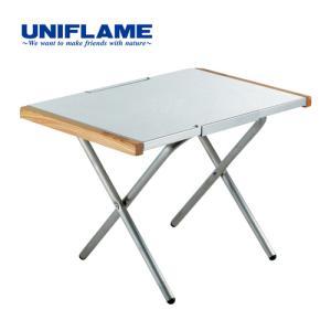 ユニフレーム UNIFLAME キャンプ テーブル 焚き火テーブル ステンレス 682104 アウトドア バーベキュー ダッチオーブン おしゃれ|esports
