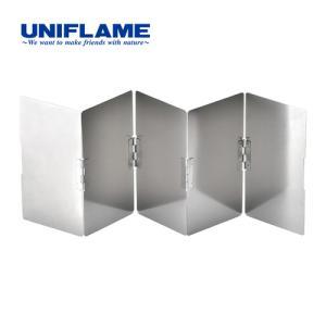 ユニフレームテーブルトップバーナーUS-Dに最適なワイドモデル。 強い横風から炎を守り、効率よく調理...