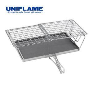 ユニフレーム(UNIFLAME) バーベキュー 網 fanマルチロースター 660072 トースター 焼き網|esports