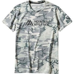 ノースフェイス(THE NORTH FACE) メンズ Tシャツ ショートスリーブアンペアMAクルー S/S Ampere MA Crew グレーカモ NT11993 GC ランニングウェア トップスの商品画像|ナビ