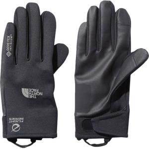 ノースフェイス(THE NORTH FACE) メンズ レディース ランニング GTXTRグローブ GTX TR Glove ブラック NN61970 K 手袋 トレイルランニング 防風