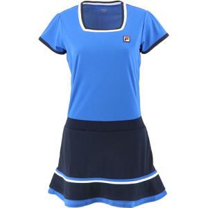 フィラ(FILA) レディース テニスウェア ワンピース ミッドナイトブルー VL2234 09 ス...