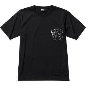 ヘリーハンセン(HELLY HANSEN) レディース ショートスリーブアイコンティー S/S Icon Tee ブラック HE62134 K 半袖 Tシャツ ワンポイント アウトドア eSPORTS PayPayモール店