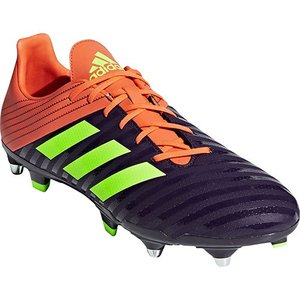 アディダス(adidas) メンズ ラグビーシューズ マライス SG レジェンドパープル/ハイレゾイエロー/トゥルーオレンジ BTF30 BB7960 バックス用 スパイク 靴|esports